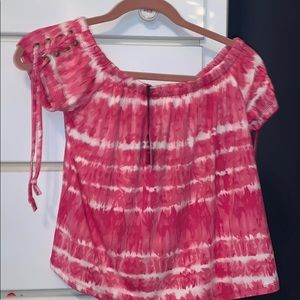 Off the shoulder tie dye NWT